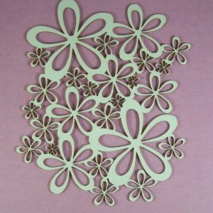 Chipboard Flowers