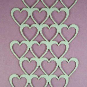 Chipboard Heart Stijl 1