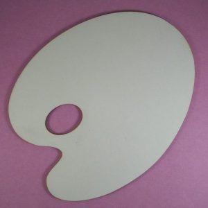 Chipboard verf / schilders Palet