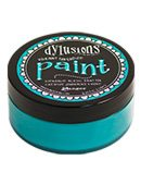 Dylusions Paint Vibrant Turqoise