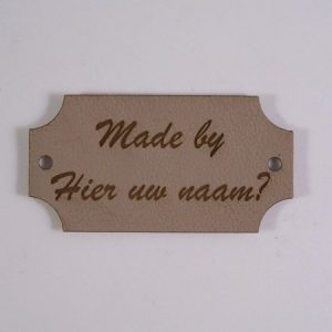 Labels Made by Zandbruin Stijl 2
