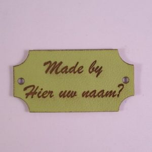 Labels Made by Groen stijl 2