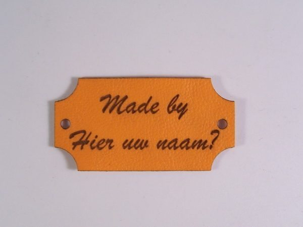 Labels Made by Oranje Stijl 2