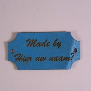 Labels Made by Blauw Stijl 2