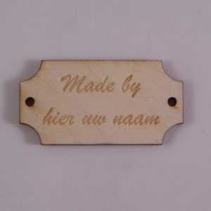 Labels Made by Hout Stijl 2