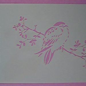 Stencil Vogel