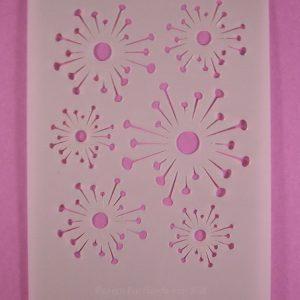 Stencil Flower Stijl 1