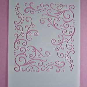 Stencil Swirl stijl 3