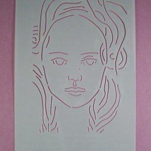 Stencil Face Stijl 4