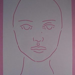 Stencil Face Stijl 2