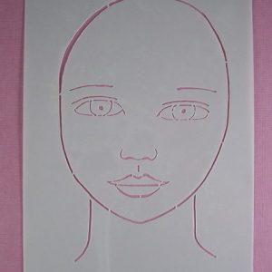 Stencil Face Stijl 7