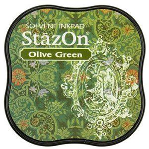 Stazon Inkt Midi Olive Green