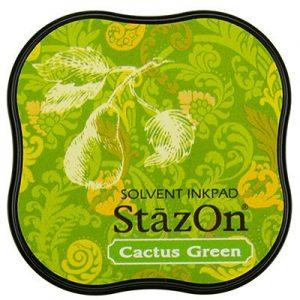 Stazon Inkt Midi Cactus Green