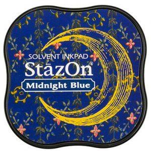 Stazon Inkt Midi Midnight Blue