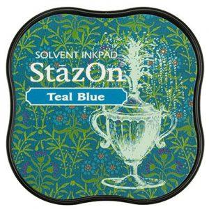 Stazon Inkt Midi Teal Blue