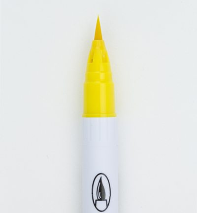 Zig Clean Color Real Brush Yellow