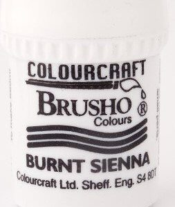 Brusho Poeder Burnt Sienna