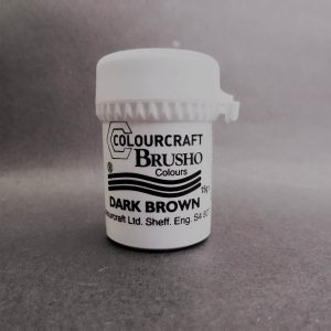 Brusho Poeder Dark Brown