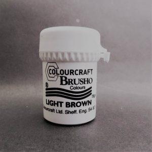 Brusho Poeder Light Brown