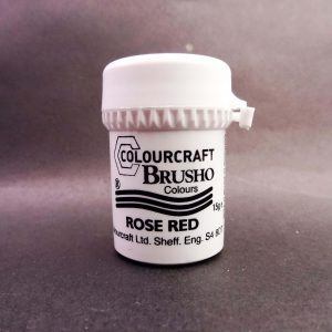 Brusho Poeder Rose Red
