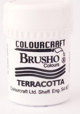 Brusho Poeder Terracotta