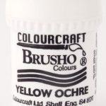 Brusho Poeder Yellow Ochre