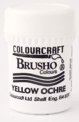 Brusho Poeder Yellow Ochre