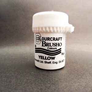 Brusho Poeder Yellow