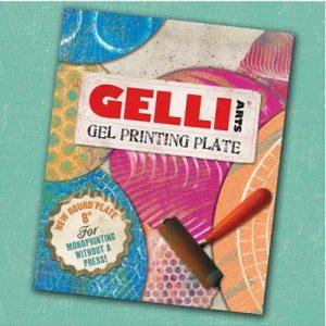 Gelli Arts Gelli Printing Plates rond 8 inch