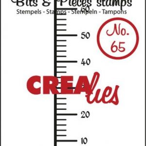 Crealies Clearstamp Bits&Pieces no. 65 13x60mm / CLBP65 (04-17)