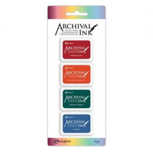 Ranger Archival Mini Ink Kit 1