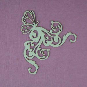 Chipboard Swirl stijl 3