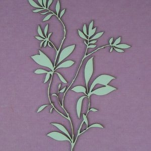 Chipboard Flower