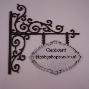 Chipboard made by Sandra