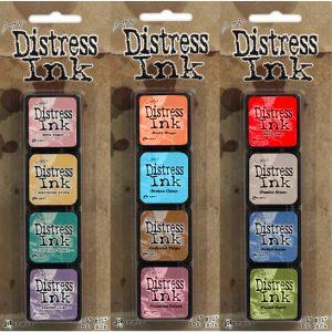 Distress inkt Mini set