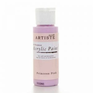 Docrafts Acrylic Paint (2oz) - Princess Pink