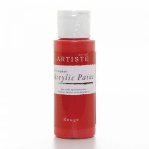 Docrafts Acrylic Paint (2oz) - Rouge