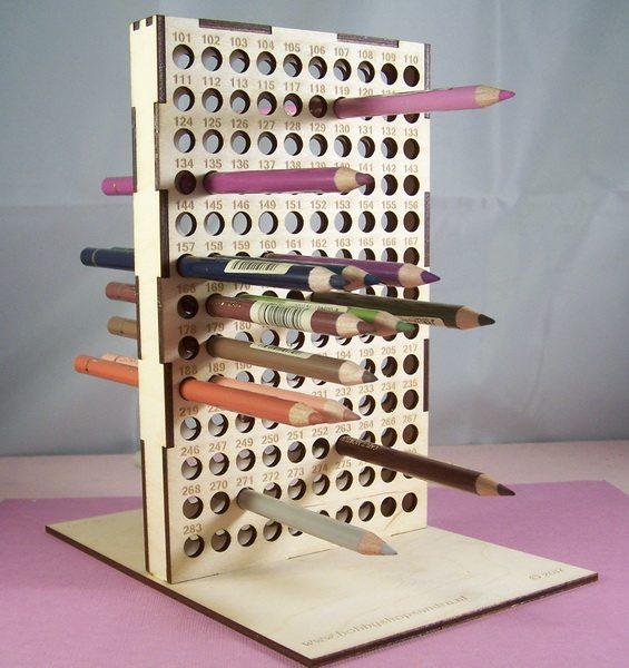 Standaard voor 121 st Polychromos potloden