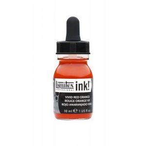 Liquitex Acrylic Ink Vivid Red Orange