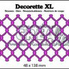 Crealies Decorette XL no. 10 gevlochten draadwerk 48x138 mm