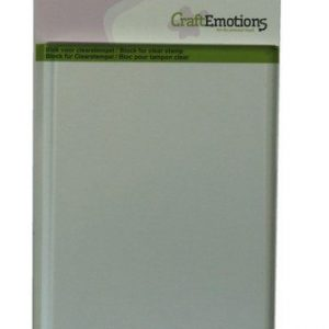 CraftEmotions blok voor clearstempel A6 105x148mm - 8mm