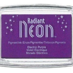Radiant Neon inktkussen Electric Purple