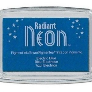 Radiant Neon inktkussen Electric Blue