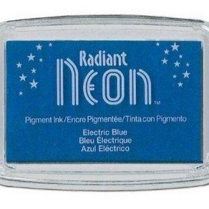 Radiant Neon inktkussen Electric Blue