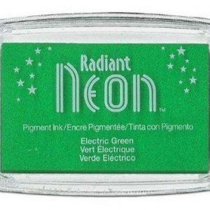 Radiant Neon inktkussen Electric Green