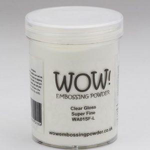Wow! 160ml Clear Clear Gloss Super Fine