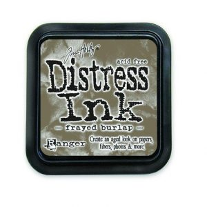 Ranger Distress Inks pad - frayed burlap