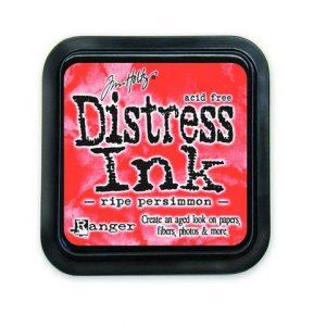 Ranger Distress Inks pad - ripe persimmon