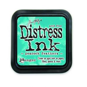Ranger Distress Inks pad - peacock feathers