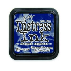 Ranger Distress Inks pad - chipped sapphire